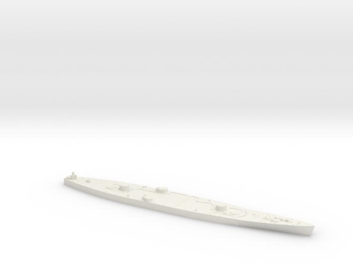 1/600 HMS Vanguard hull 3d printed