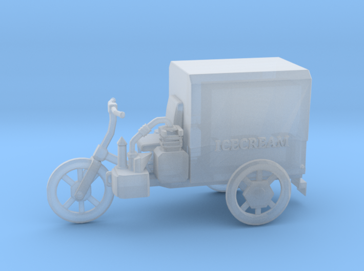 O Scale Icecream Mobile 3d printed This is a render not a picture