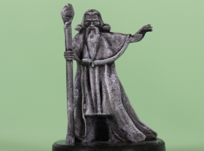 Wizard 3d printed Photo of my testprint, with a baselayer of paint