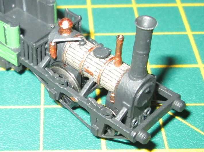 N Gauge 1830s Planet Loco Scratch Aid 3d printed