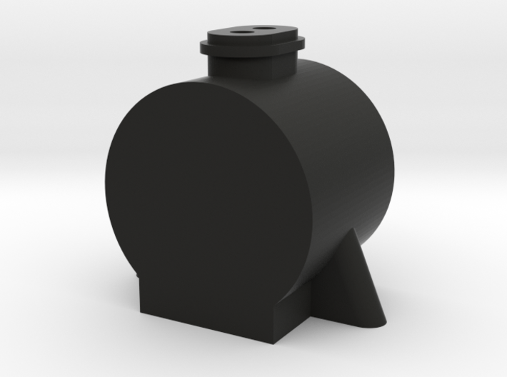 TWR Large Double Chimney Smokebox 3d printed
