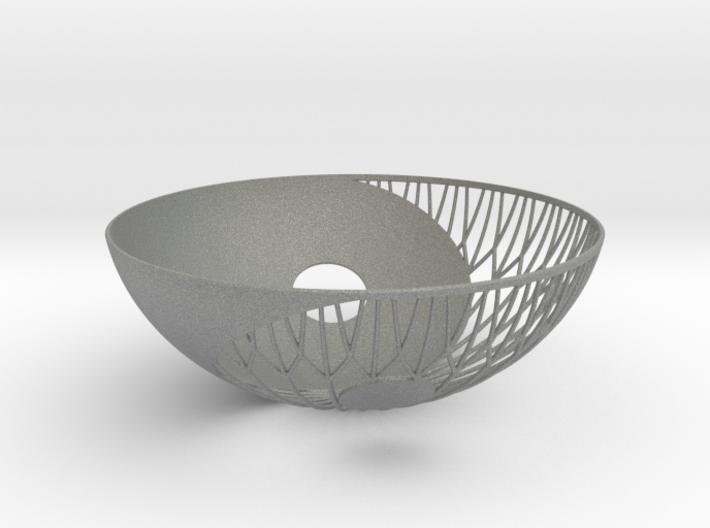 Yin Yang Bowl 3d printed