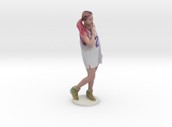 Scanned pretty Girl - 6CM High 3d printed