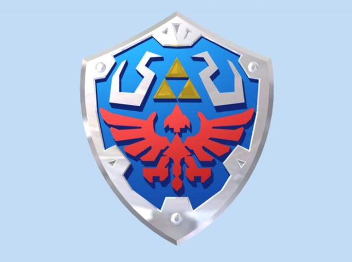 Royal Shield III 3d printed Render