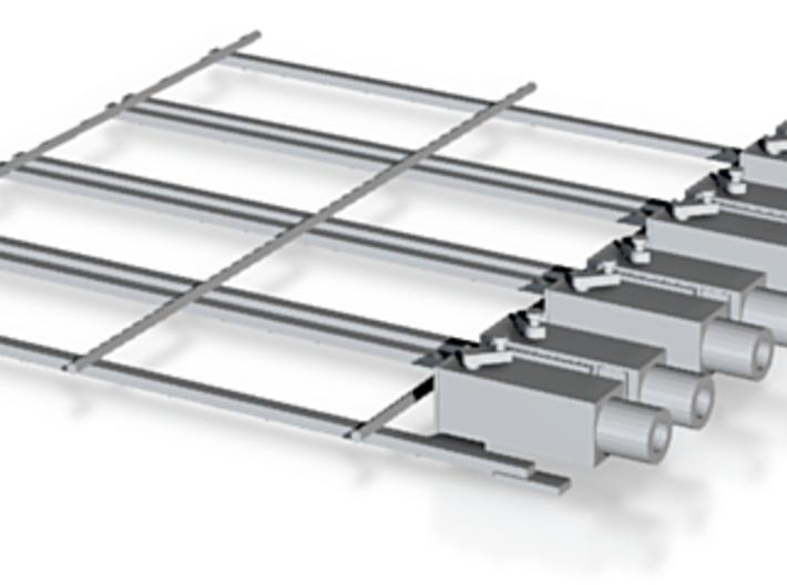 barriere passage modele 2 Gros batis 3d printed