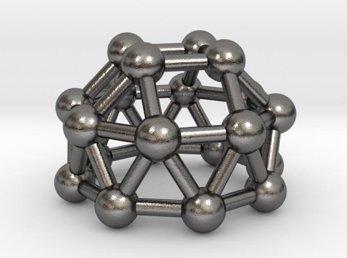 0784 J23 Gyroelongated Square Cupola (a=1cm) #3 3d printed