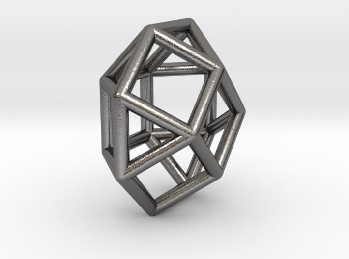 0800 J29 Square Gyrobicupola (a=1cm) #1 3d printed