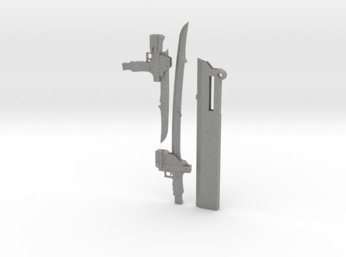1/3 Scale Gambol Shroud 3d printed