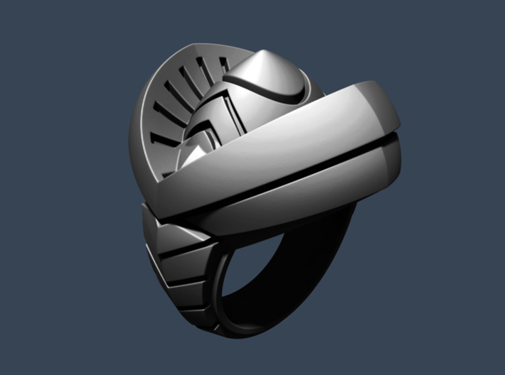 Ring of India - Size 11 1/2 (20.98 mm) 3d printed