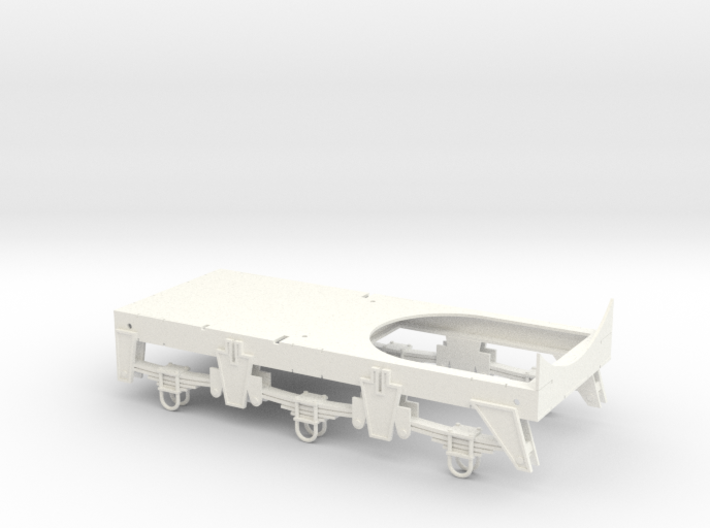 Chassis for Retro Euro Bulk Tanker 3d printed