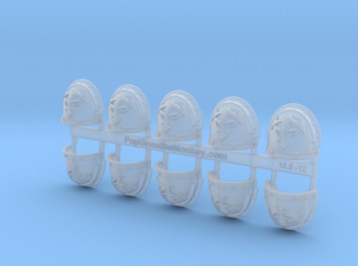 10x Warmaster's Eye - G:3a Shoulder Pads 3d printed