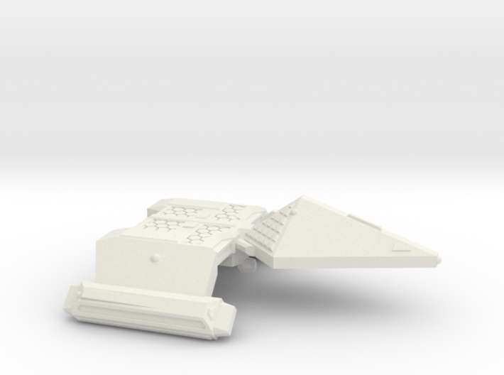 3125 Scale Neo-Tholian Destroyer SRZ 3d printed