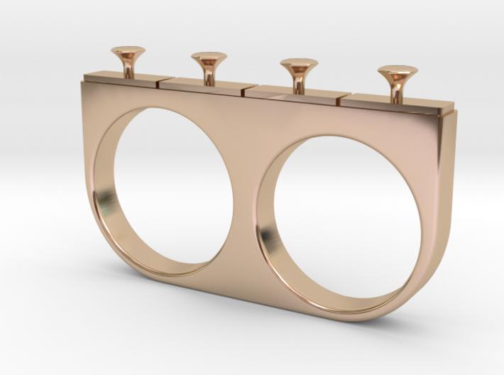 4-Drawer Ring 3d printed