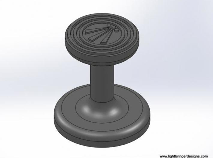 Awen Wax Seal 3d printed