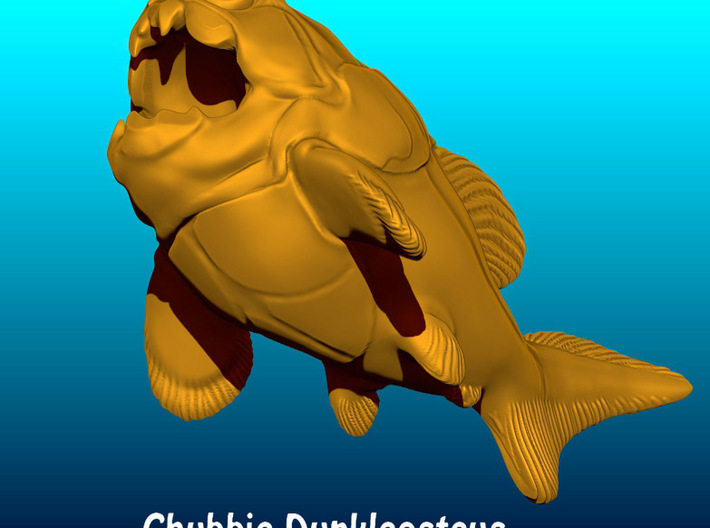 Dunkleosteus Chubbie 1 3d printed