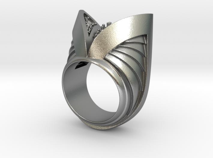 Dark Angel Ring - Size 12 (21.49 mm) 3d printed