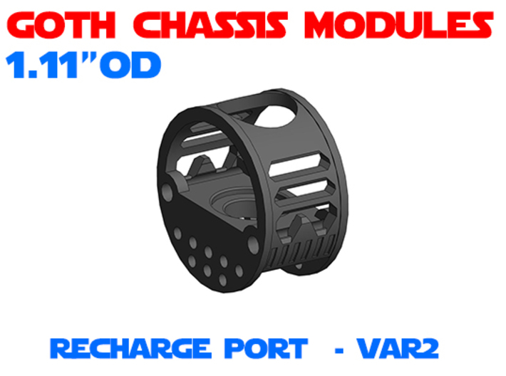 GCM111 - Recharge Port Chassis Var2 3d printed