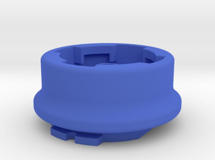 Lezyne to Garmin Quarter-turn Adapter 3d printed