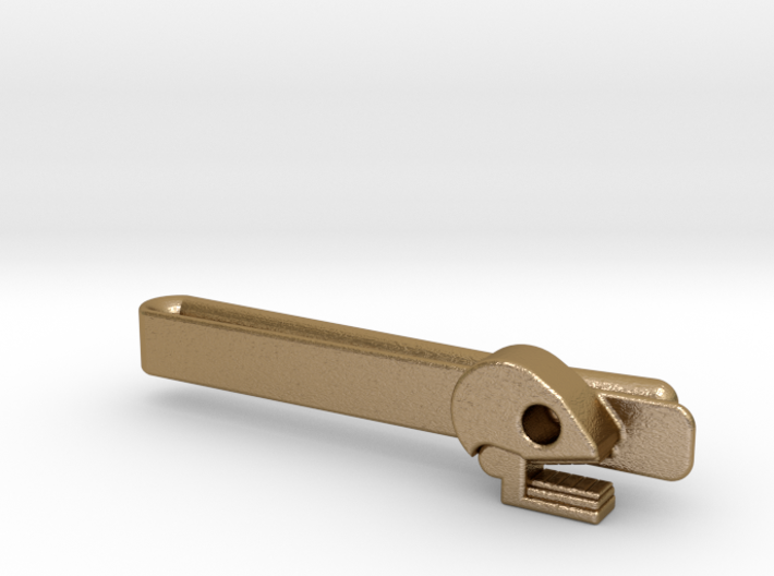Mictlan tie clip 3d printed Great style at reach!