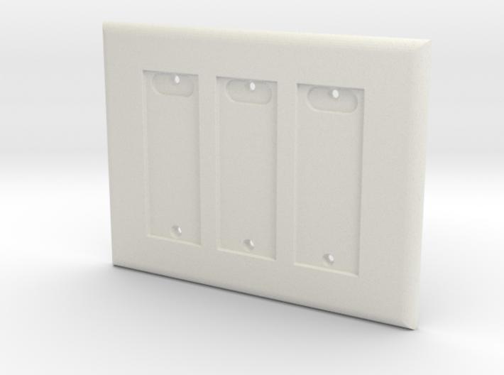 Philips HUE Triple Dimmer Plate 3 Gang 3d printed