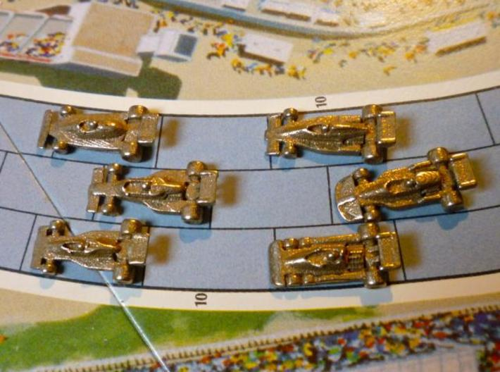 Formula 1 Miniatures - 1976 3d printed All 6 cars on straight