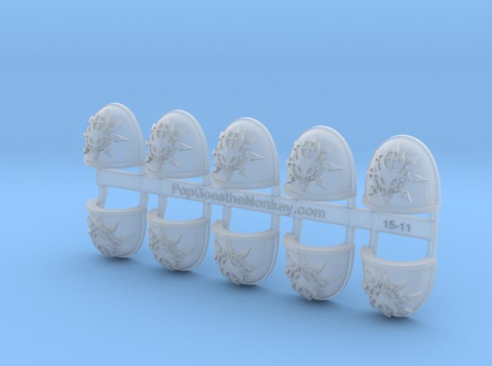 Devil Dragons - G4 Shoulder Pads x10 3d printed