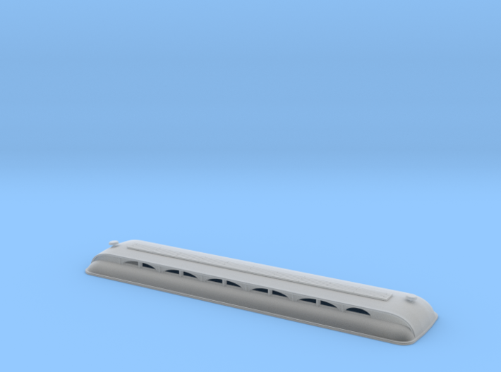 Descanso HO scale - Roof 3d printed