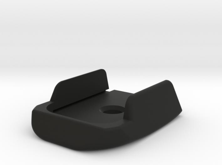SIG P320 X Frame Base Pad - Round 3d printed