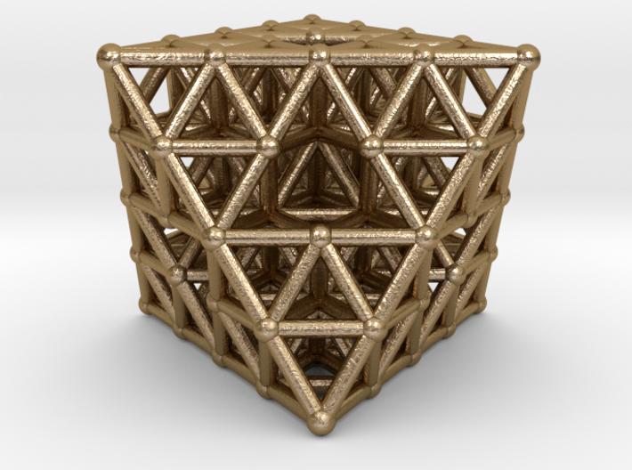 Octahedron fractal 3d printed