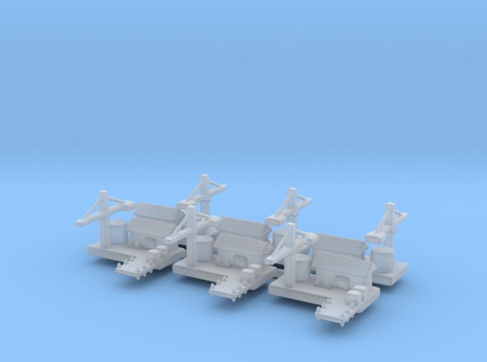 Naval Yard x6 3d printed