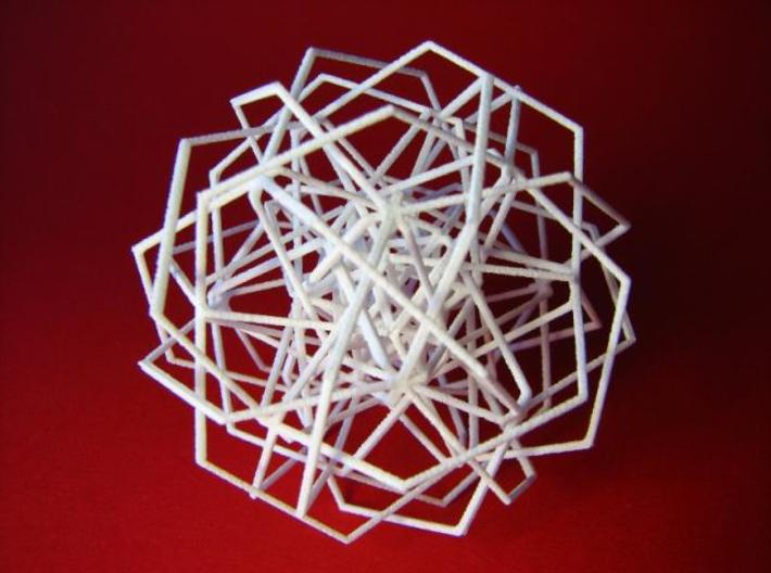 Thirty Interwoven Hexagons Formalbs 7 3d printed