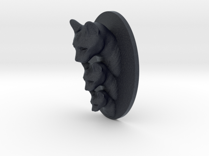 Cat Multi-Faced Caricature (003) 3d printed