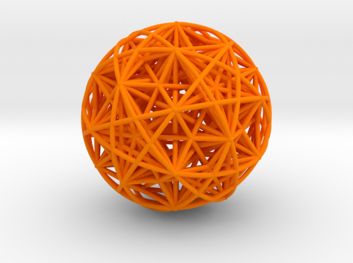 Hedron Star compound 3d printed