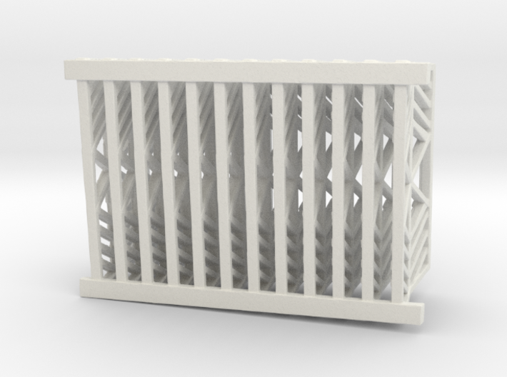 hurricane fence for use on downdraft 3d printed