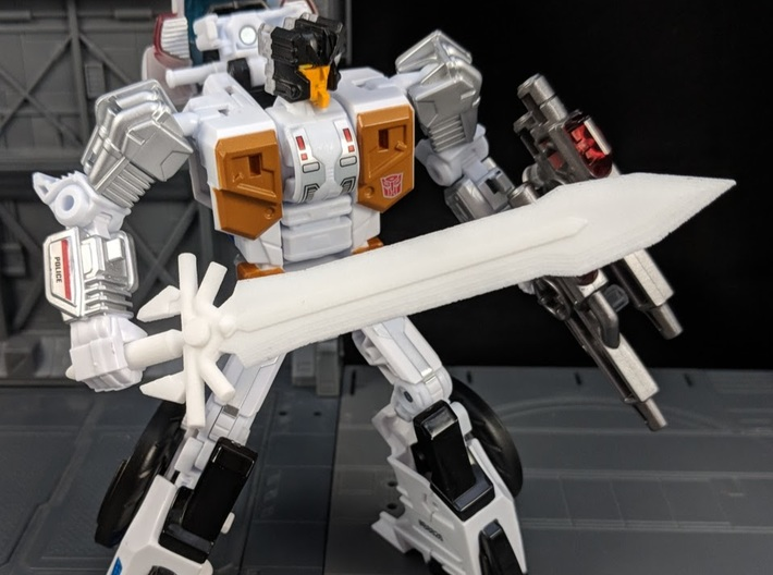 Ultima Sword for Deluxe Class Transformers 3d printed