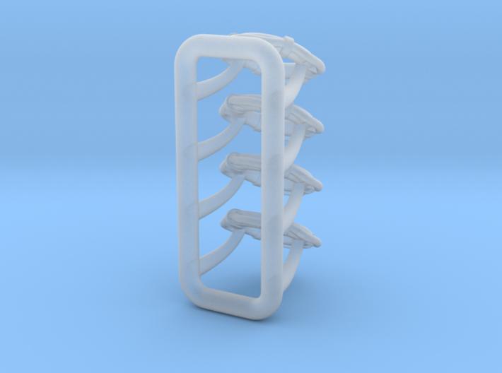 1/64 Life Preserver set of 4 3d printed