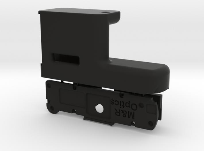 Grip for PENTAX Q (w/ optional storage) 3d printed