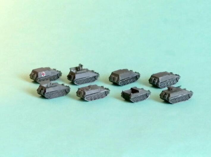Hotchkiss SPz Kurz APC Variants 1/285 6mm 3d printed Add a caption...