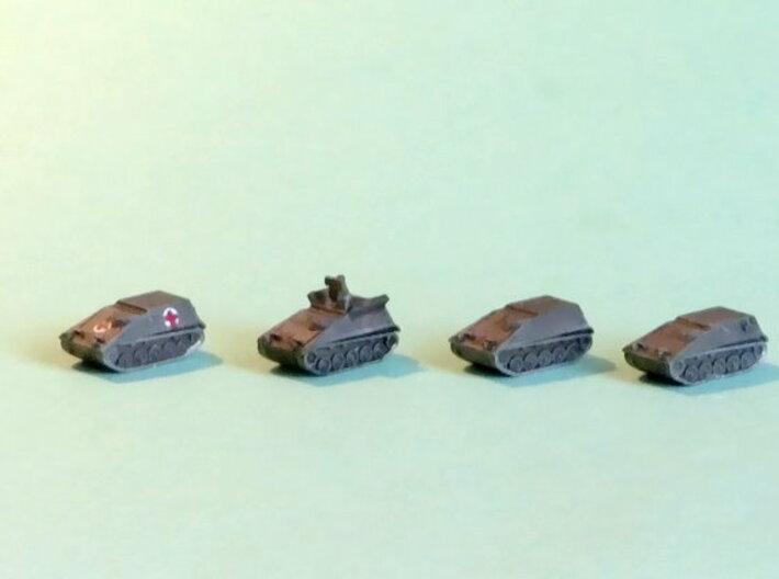 Hotchkiss SPz Kurz Variants 1/285 6mm 3d printed Add a caption...