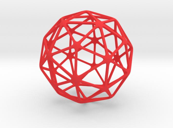 Pentakis Dodecahedron 3d printed