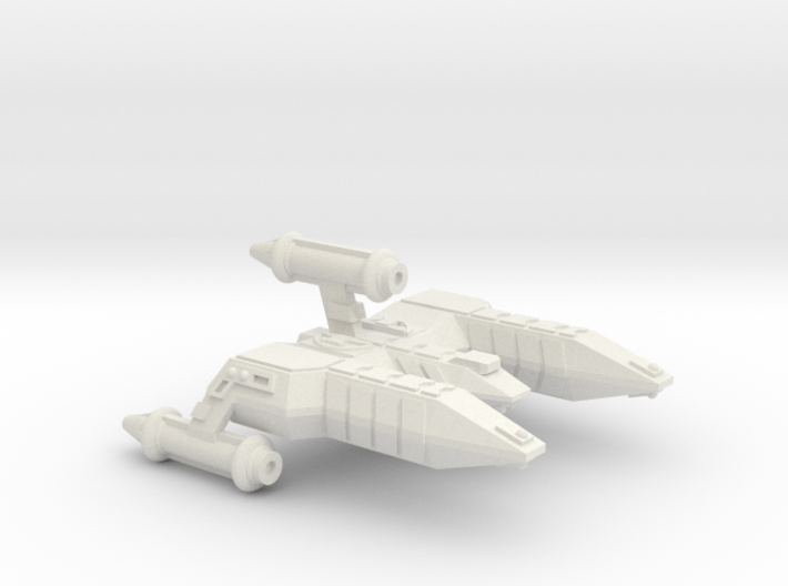 3788 Scale Lyran Refitted Alleycat-E CVN 3d printed