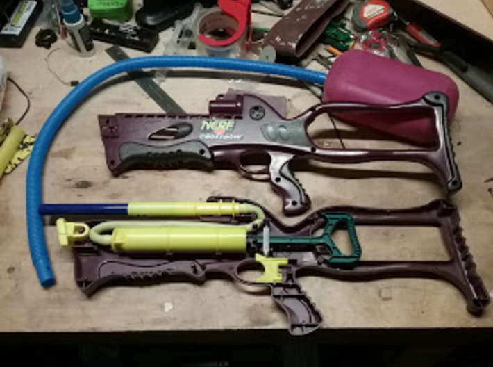 Nerf Crossbow Trigger 3d printed