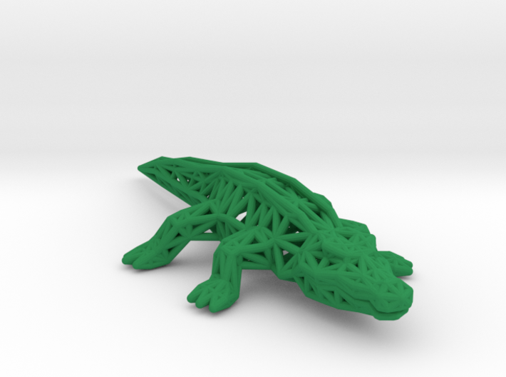 Nile Crocodile 3d printed