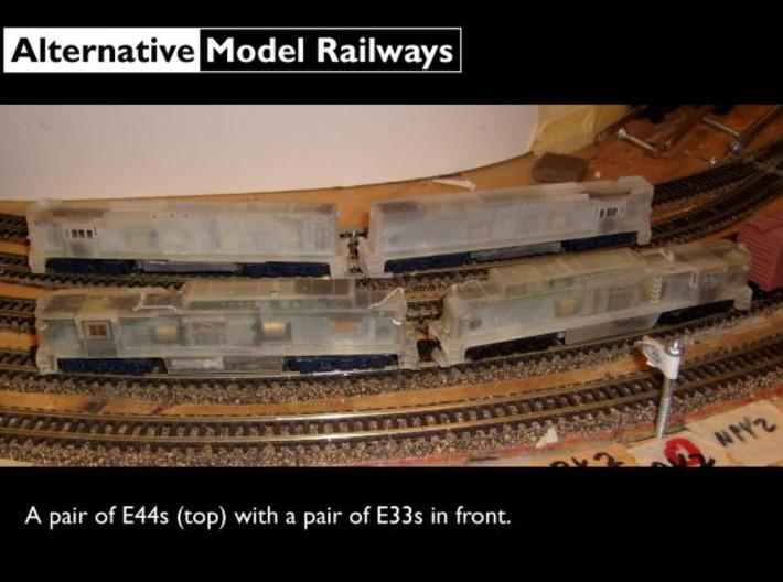 NE4404 N scale E44 loco - 4460-4465 as built 3d printed