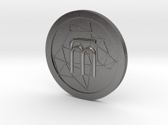 WestarcticaCoin Cryptocoin 3d printed