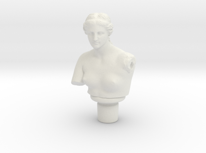 Aphrodite Wine Stopper 3d printed