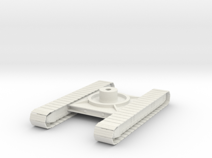 1/50th P&H Crane tracked Crawler undercarriage 3d printed