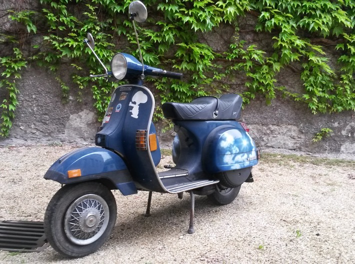 Lovely Vespa 3d printed