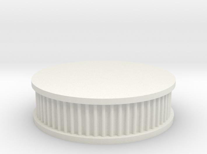air filter round 1/12 3d printed