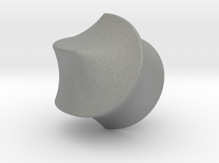 Hexasphericon Sloped 3d printed